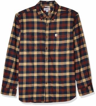 Carhartt Men's Rugged Flex Hamilton Plaid Flannel Shirt (Regular and Big & Tall Sizes)