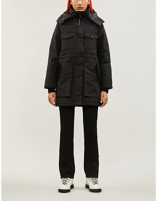 Canada Goose Gabriola feather and shell-down parka coat