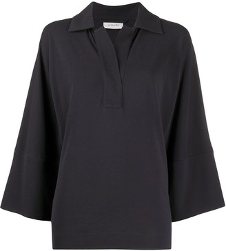 Lemaire Collared Tunic Cotton Top
