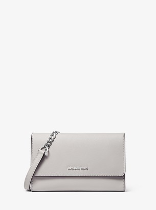 MICHAEL Michael Kors Jet Set Small Saffiano Leather Convertible Crossbody Bag