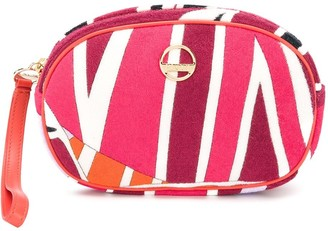 Emilio Pucci Sal Print Terry Beauty Case