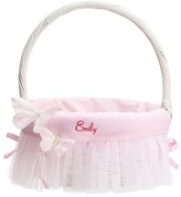 Pottery Barn Kids Butterfly Tulle Easter Basket Liner Pink, Small