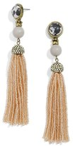 BaubleBar Women's Artemis Tassel Drop Earrings