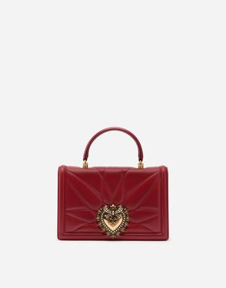 Dolce & Gabbana Big Devotion Bag In Matelasse' Nappa