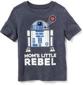 "Old Navy Star Wars ""Mom's Little Rebel"" Tee for Toddler Boys"