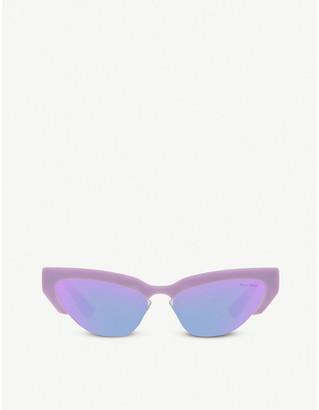Miu Miu cat-eye frame sunglasses