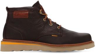 Caterpillar Jackson Mid Grain Leather Boots