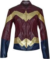 The Jasperz Wonder Women Gal Gadot Diana Synthetic Leather Jacket,XL.