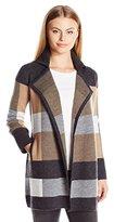 Pendleton Women's Petite Plaid Cardi Sweater