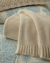 Pine Cone Hill King Remy Knit Blanket