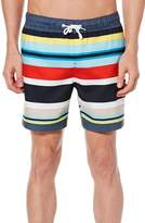 Original Penguin Large Stripe Swim Trunks