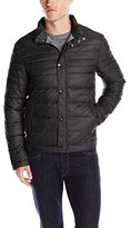 Kenneth Cole New York Men's Front-Zip Jacket with Faux-Down Fill