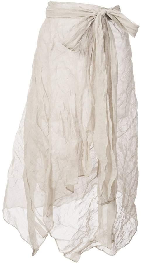 Leroy Veronique asymmetric skirt