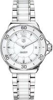 Tag Heuer Formula 1 steel & ceramic watch 37mm