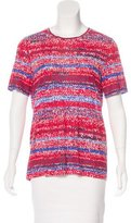 Tory Burch Printed Short Sleeve T-Shirt