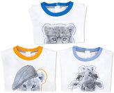 Armani Junior animal print T-shirt
