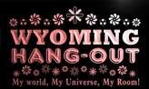 AdvPro Name pq2050-r Wyoming Hang Out Girl Kid's Princess Room Neon Light Sign