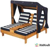 Kid Kraft Double Chaise Lounger with Cupholder