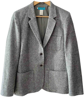 Cacharel Grey Wool Jackets