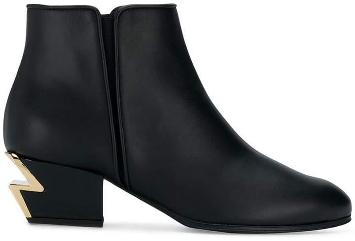 Giuseppe Zanotti Design lightning heel boots