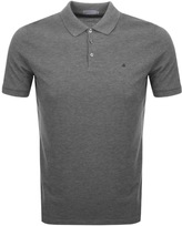 Calvin Klein Paul Polo T Shirt Grey