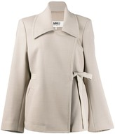 MM6 MAISON MARGIELA oversized belted blazer