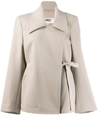 MM6 MAISON MARGIELA Oversized Belted Blazer