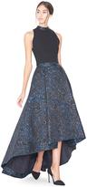 Alice + Olivia Cohe Asymmetrical Maxi Skirt