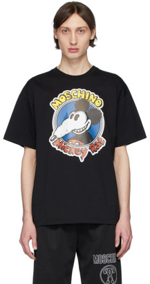 Moschino Black Chinese New Year Micket Rat T-Shirt