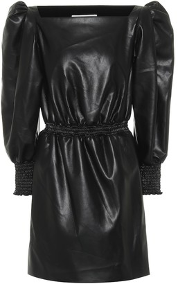 Philosophy di Lorenzo Serafini Faux leather minidress