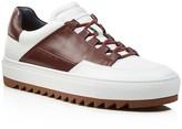 Salvatore Ferragamo Lange Low Top Sneakers