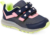 Carter's Record Light-Up Sneakers, Toddler and Little Girls (4.5-3)