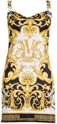 Versace Rodeo Queen Sleeveless Printed Slip Dress