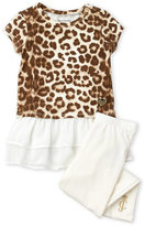 Juicy Couture Girls 4-6x) Two-Piece Leopard Print Tunic & Leggings Set