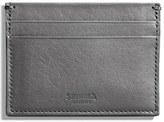 Shinola Men's Leather Card Case - Black