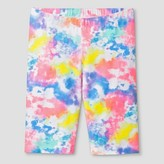 Cat & Jack Girls' Bike Shorts Cat & Jack - Tie Dye