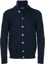 Zanone button-down sweater