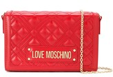 Love Moschino logo quilted crossbody bag