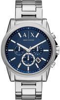 Armani Exchange Silver Bracelet Watch