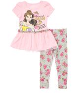 Children's Apparel Network Pink Belle Top & Pants - Toddler & Girls
