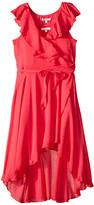 Ella Moss Flutter Sleeve Tulip Dress (Big Kids)