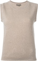 N.Peal Milano sleeveless top - women - Cashmere - S