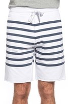 Tailor Vintage Men's Sailor Stripe Shorts