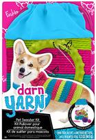 Fashion Angels Darn Yarn: Pet Sweater Kit