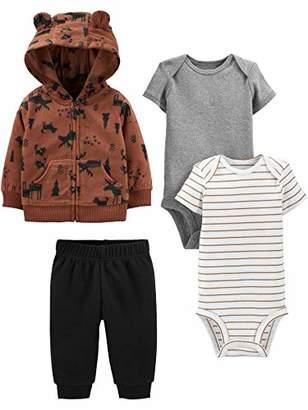 Carter's Simple Joys by Boys' 4-Piece Fleece Jacket