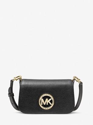 MICHAEL Michael Kors Samira Extra-Small Pebbled Leather Convertible Crossbody Bag