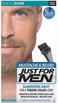 Just For Men Mustache & Beard Brush-In Color Gel