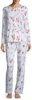 Adonna Jersey Long Sleeve Pant Pajama Set