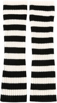 Chinti and Parker striped wrist warmers - women - Cashmere - One Size