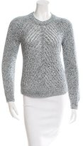 3.1 Phillip Lim Open Knit Crew Neck Sweater